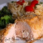Rosemary Goat Cheese Stuffed Chicken