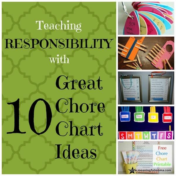 1-#chore chart #ideas #kids