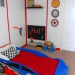 Race Car Garage Room