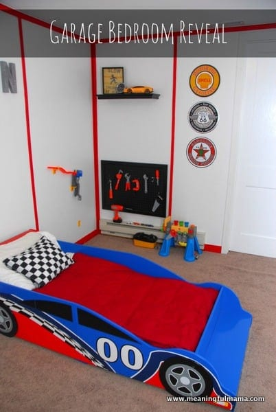 Race Car Garage Room
