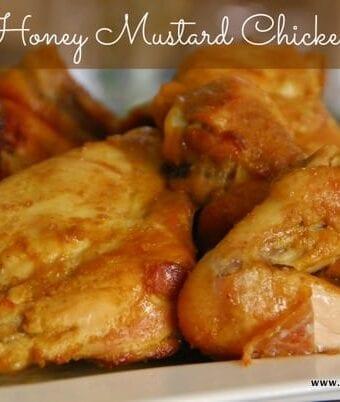 Easy Honey Mustard Chicken