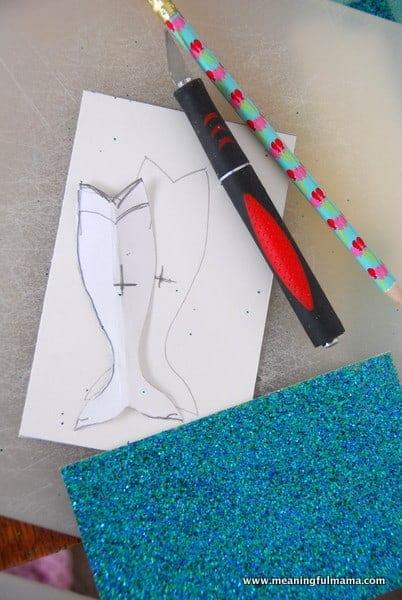 1-#mermaid pary #invitations #diy-012
