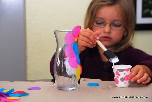 1-#polka dot vase #craft #kids-023