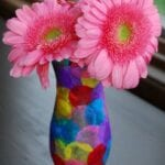 Polka Dot Vase Craft