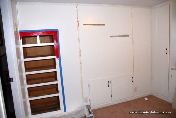 1-#race car #garage #boys room #makerover #design-002