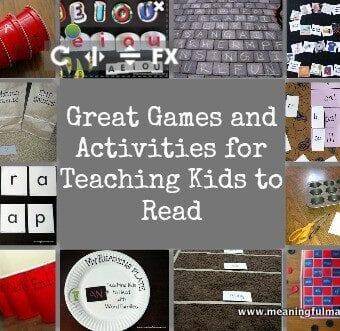 Teaching Beginning Reading Activities & Giveaway