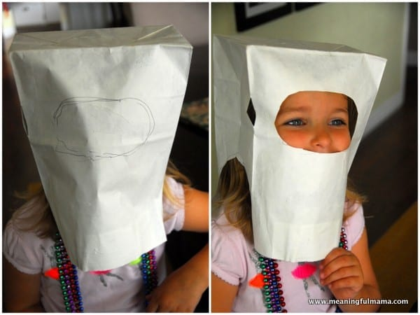 1-#robot mask #diy #craft for kids