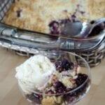 4 Ingredient Berry Cobbler Recipe