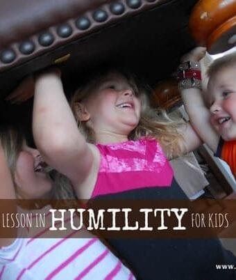Teaching Kids Humility