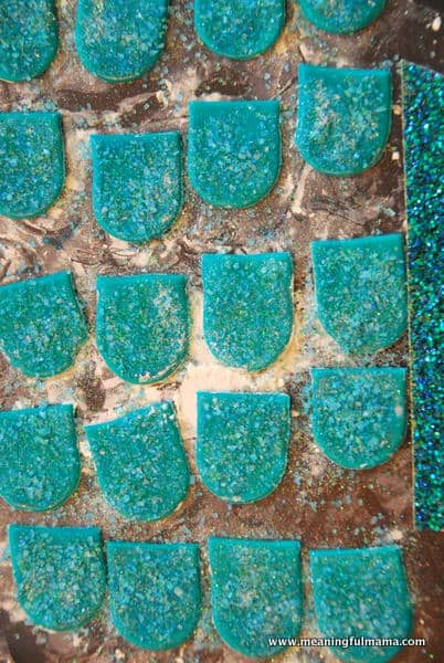 1-#mermaid party #cake #decorating-048