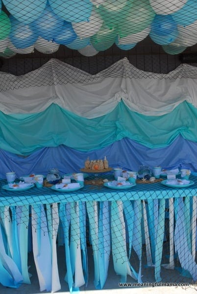 1-#mermaid party #decorating #under the sea-015