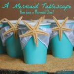 Mermaid Party Table Decorations