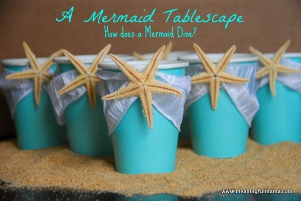Mermaid Party Table Decorations - Meaningfulmama.