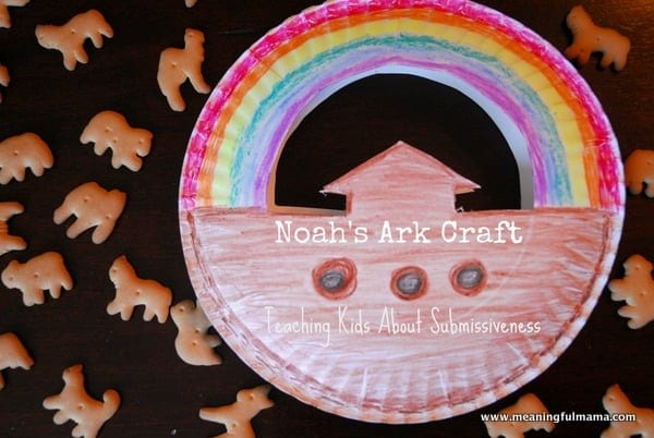 1-#noah's ark #craft #teaching #submissiveness kids-038