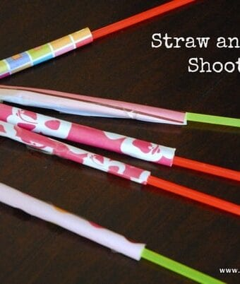 Straw and Paper Shooters