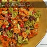 Favorite Tortellini Pasta Salad Recipe