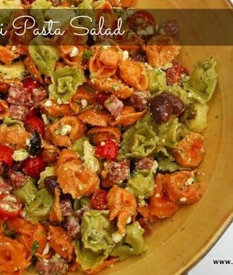 Favorite Tortellini Pasta Salad Recipe