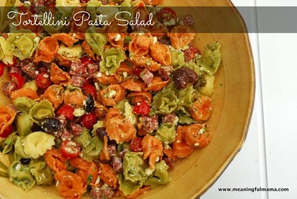 1-#tortellini pasta salad #recipe-007