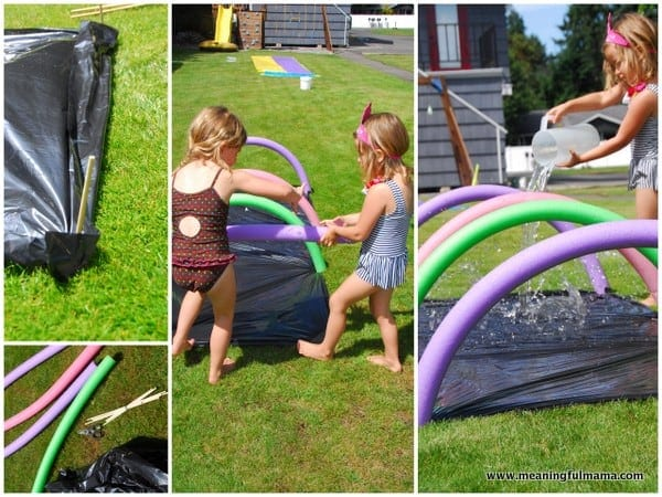 1-#water obstacle course #kids #summer activities