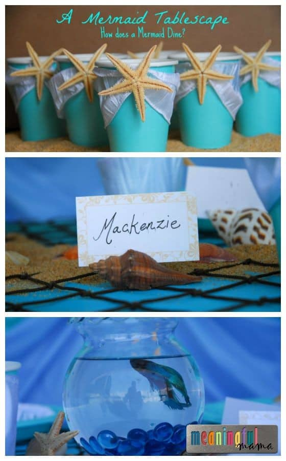 Mermaid Table Decoration Ideas