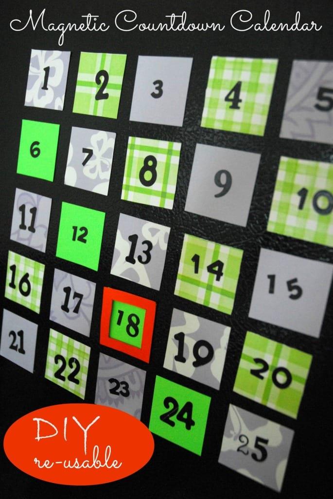 #countdown #calendar #reusable #magnetic #diy-064