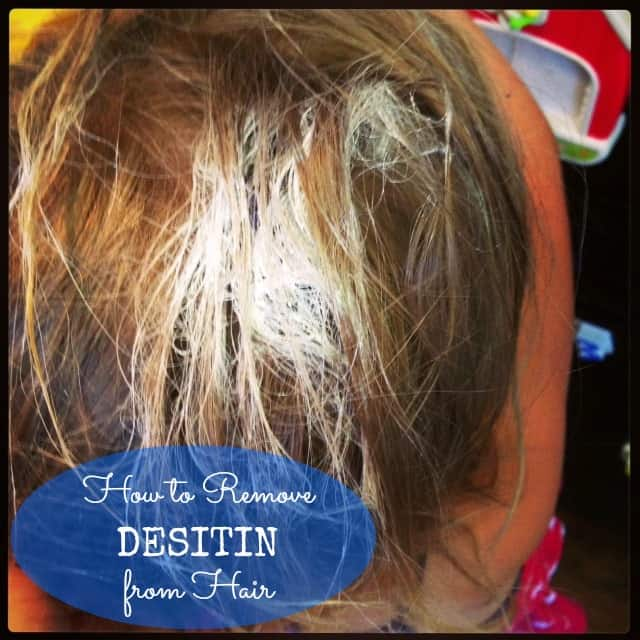 #how to #remove desitin from hair-001
