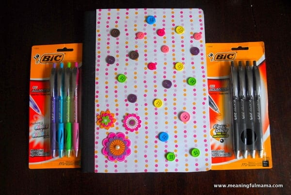 How To Decorate With Books transforming composition books into journals and writing with bic