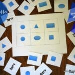 Shape Lotto Teaches Shapes to Kids