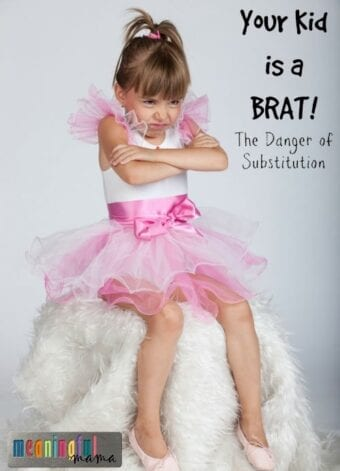 Your Kid is a Brat