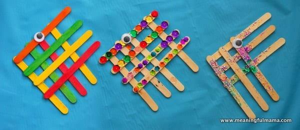 1-#angel fish #popsicle stick #craft-001