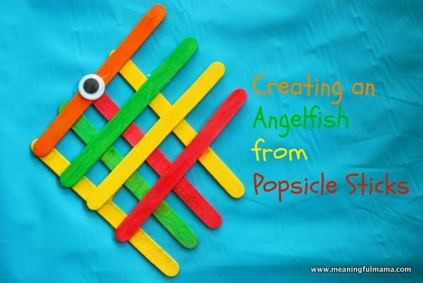 1 Angel Fish Popsicle Stick Craft 007