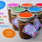 Salsa Mason Jar Gifts Teach Appreciation