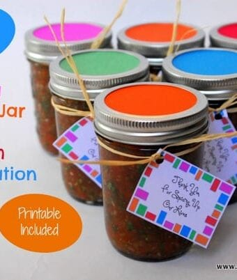 Salsa Mason Jar Gifts Teach Appreciation