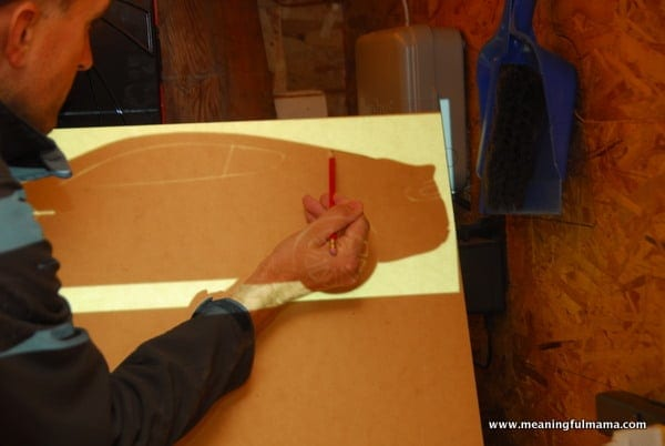 1-#chalkboard #diy #custom shape -002