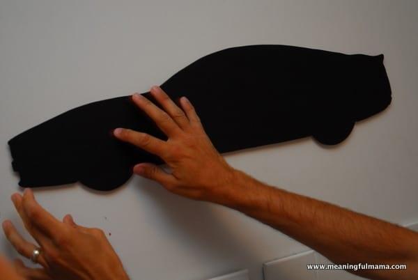 1-#chalkboard #diy #custom shape #jigsaw-002