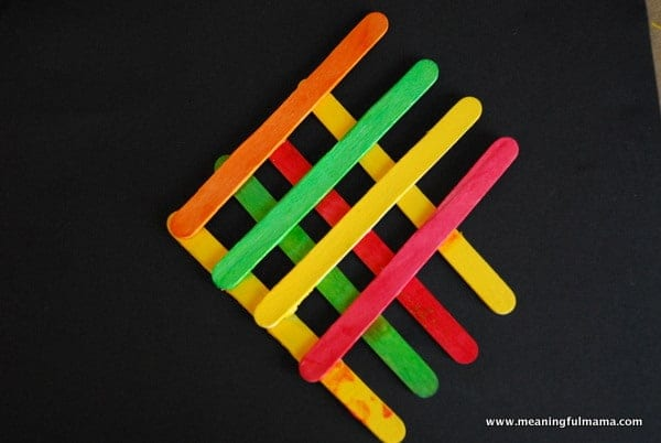 1 Fish Angel Popsicle Sticks Craft Kids 010