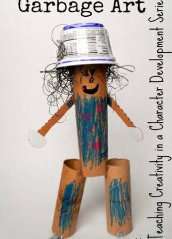 Garbage Art Teaches Creativity
