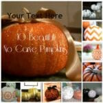 10 Beautiful No-Carve Pumpkins
