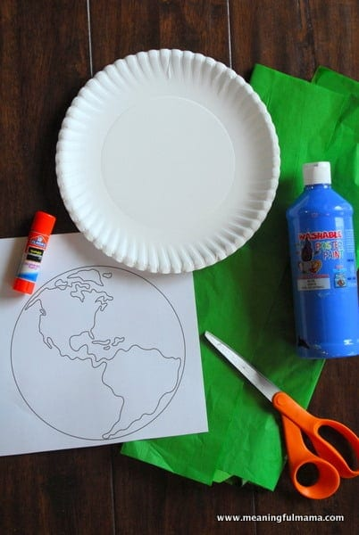 1-#world craft #paper plate #Cubbies #Bear Hug #2-001
