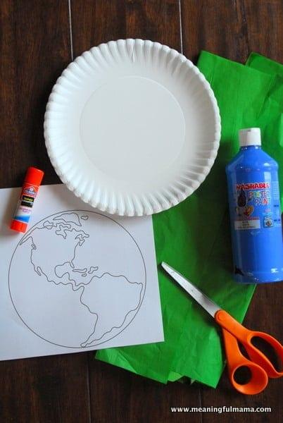 1-#world craft #paper plate #Cubbies #Bear Hug #2-001