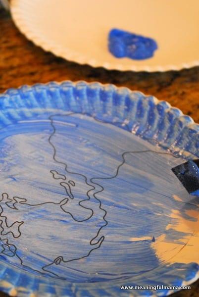 1-#world craft #paper plate #Cubbies #Bear Hug #2-008