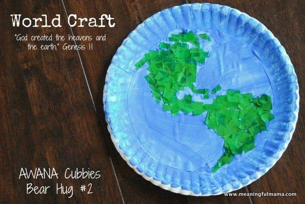 1-#world craft #paper plate #Cubbies #Bear Hug #2-020