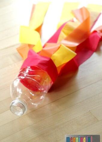 Water Bottle Comet Craft