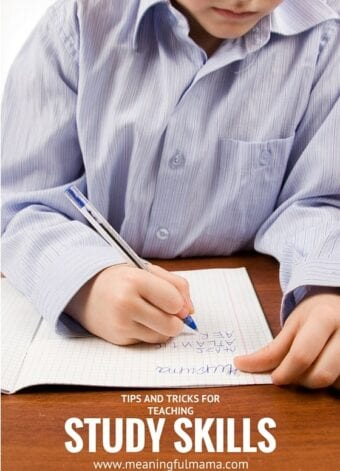 Tips and Tricks for Teaching Study Skills to Kids