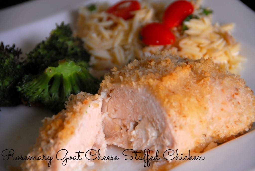 #chicken #goat cheese #rosemary #recipe