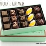 Sucre' Chocolate Giveaway