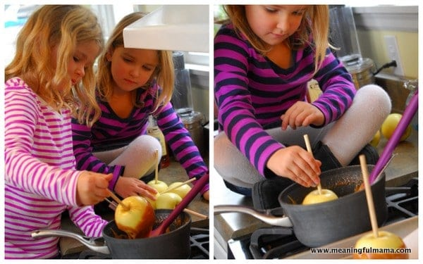 1-#carmel apples #monster #recipe #evaporated milk-002