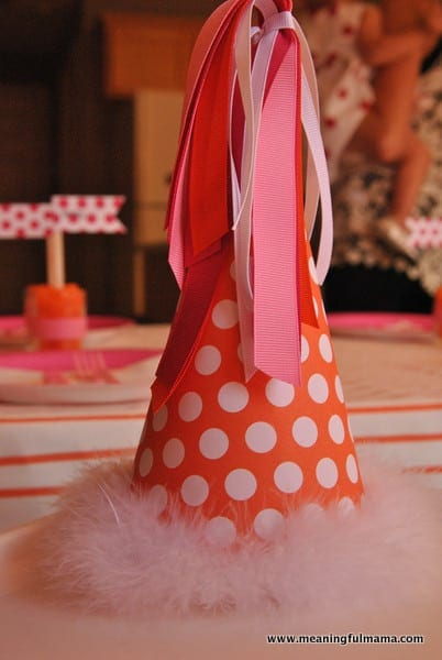 1-#first birthday #ideas #pink #orange12