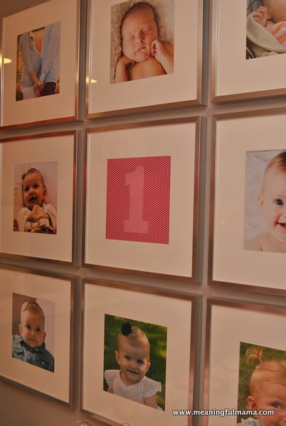 1-#first birthday #ideas #pink #orange14