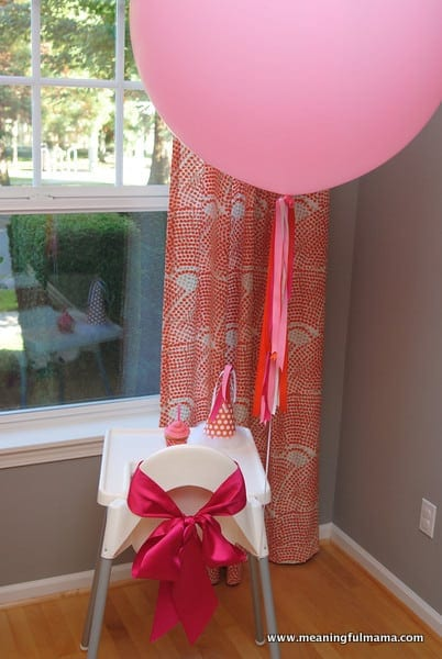 1-#first birthday #ideas #pink #orange18